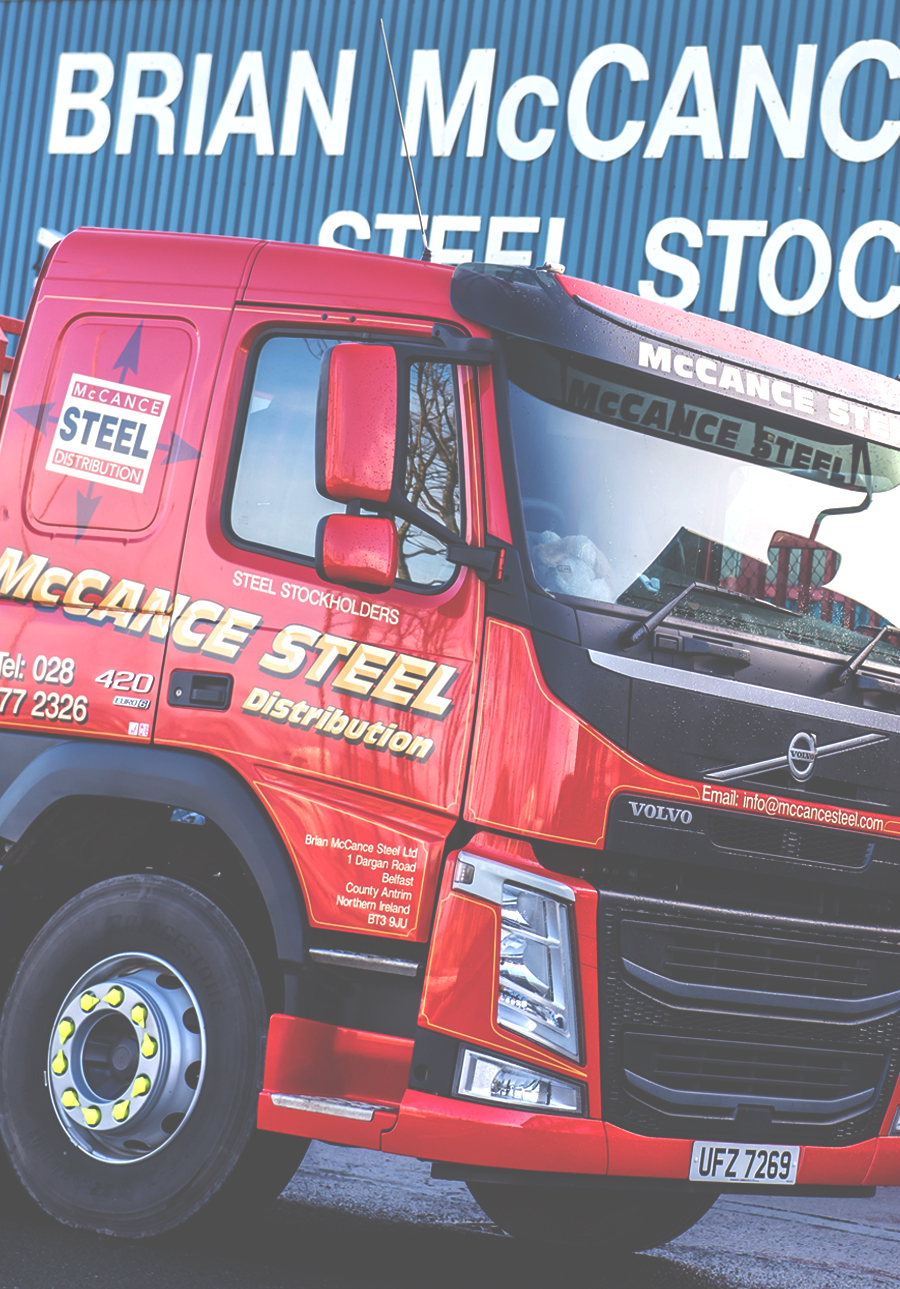 Delivery Available from McCance Steel